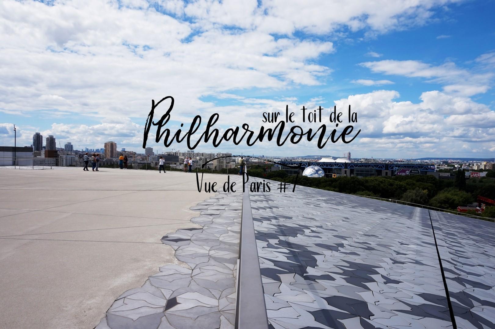 Top Vues de Paris #7 Sur le toit de la Philharmonie - Un petit pois  LZ65
