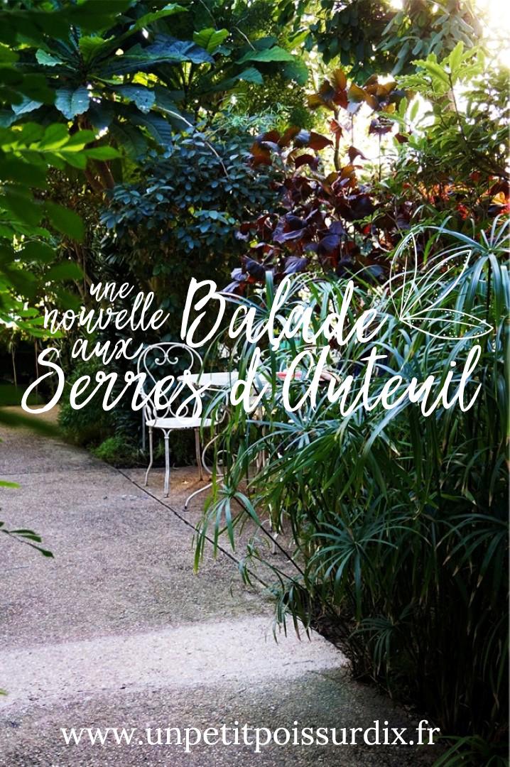 Visite du jardin des serres d'Auteuil - Paris 16e