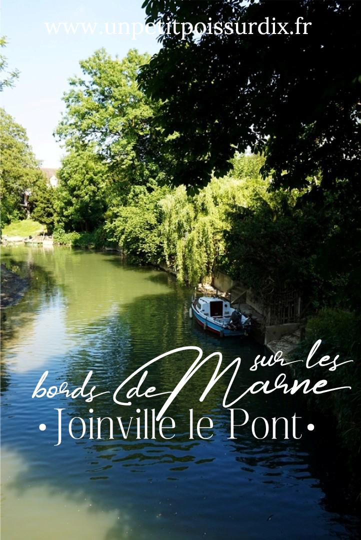 Balade le long de la Marne à Joinville le Pont et l'Ile Fanac