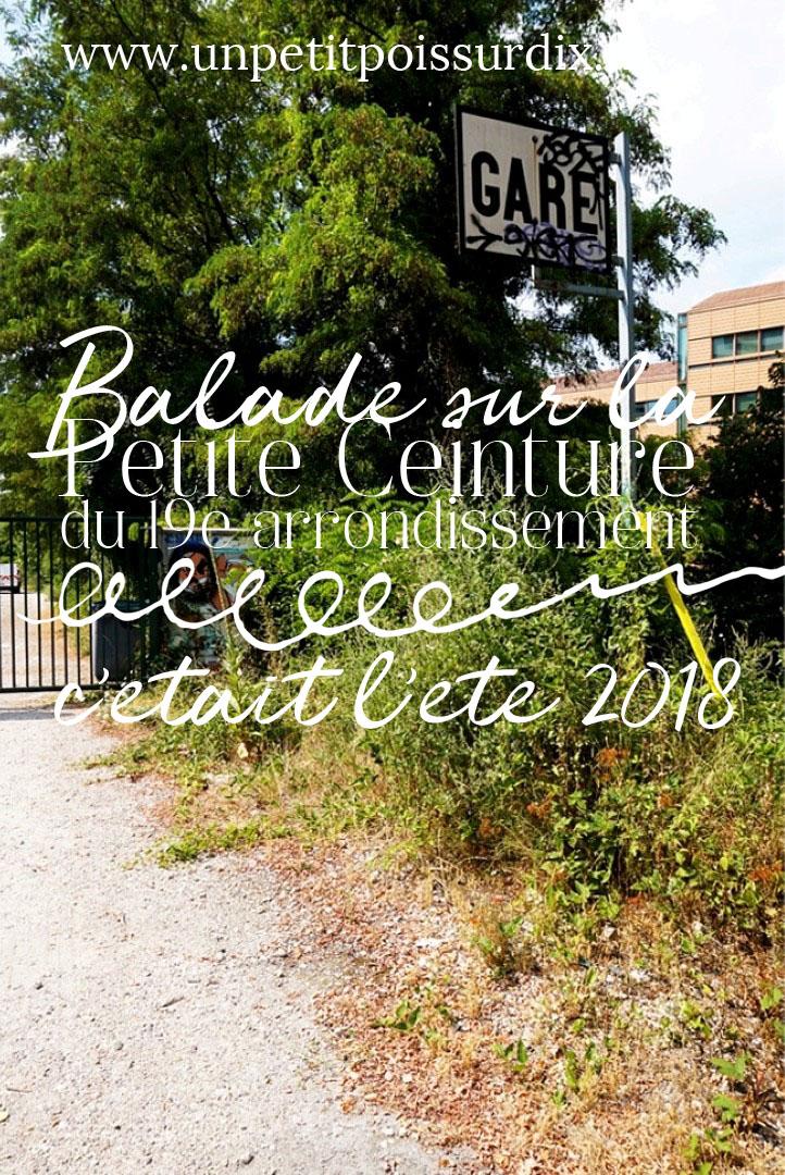 Balade sur la Petite Ceinture, dans le 19e arrondissement
