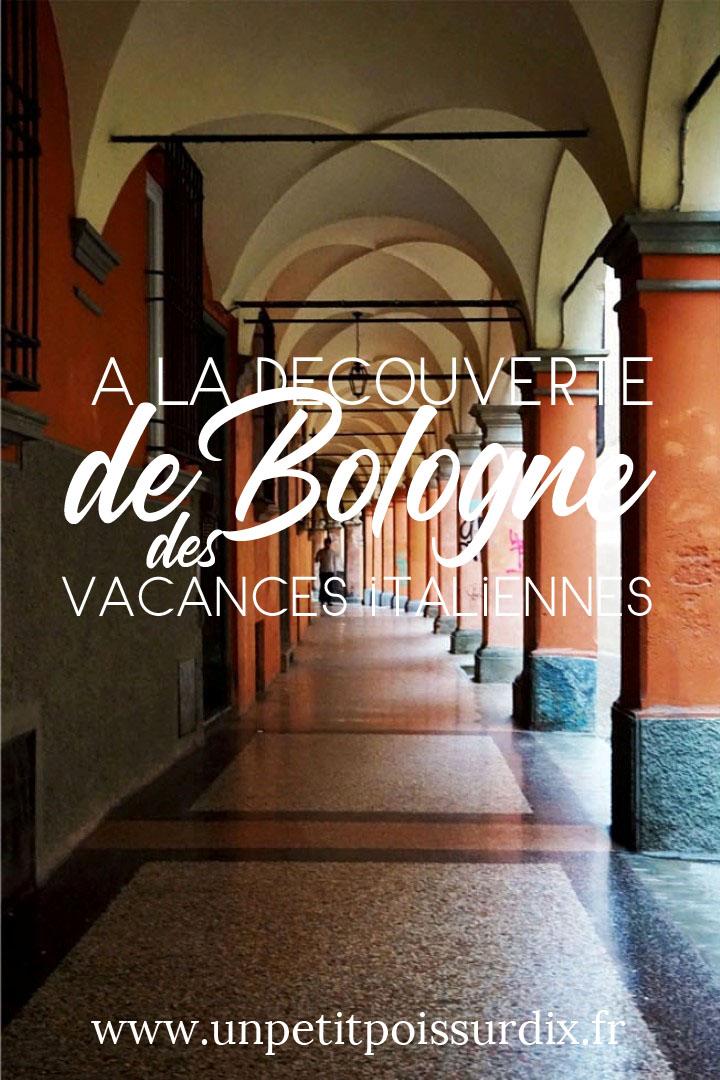 Visite de Bologne