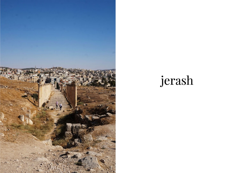 Voyage en Jordanie - Petra Wadi-Rum - Jerash