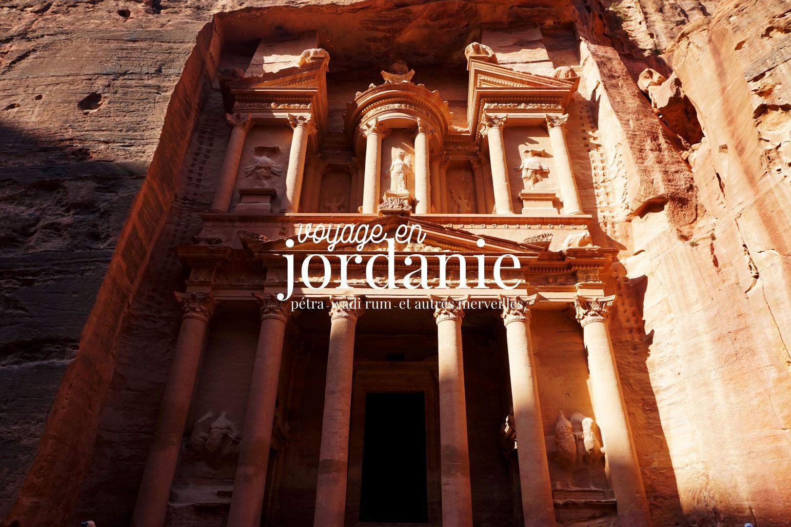 Voyage en Jordanie - Petra Wadi-Rum