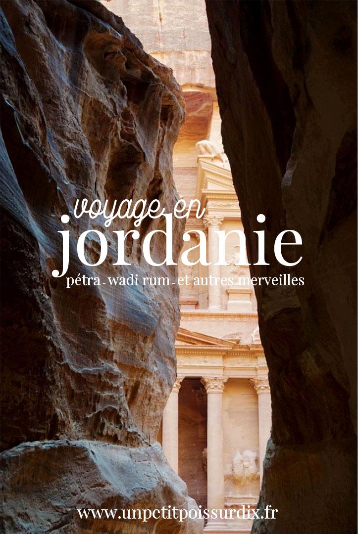 Voyage en Jordanie - Parcours de 10 jours