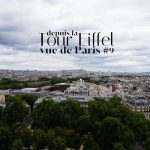 Tour Eiffel - Vue de Paris