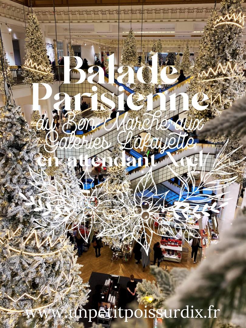 Balade dans les 6e et 7e arrondissements, en attendant Noël