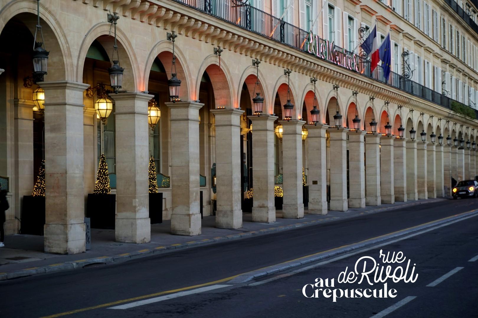 Balade de Noël à travers Paris - du Bon Marché aux Galeries Lafayette - Rue de Rivoli