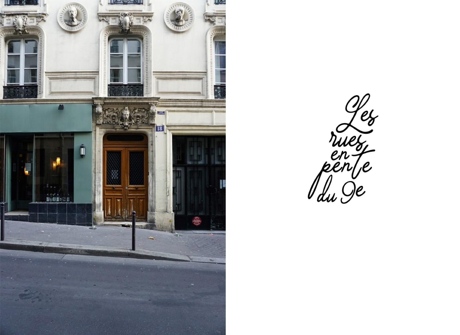 Rue Rodier - Balade dans les 9e et 10e arrondissements de Paris - De place de la République à Pigalle