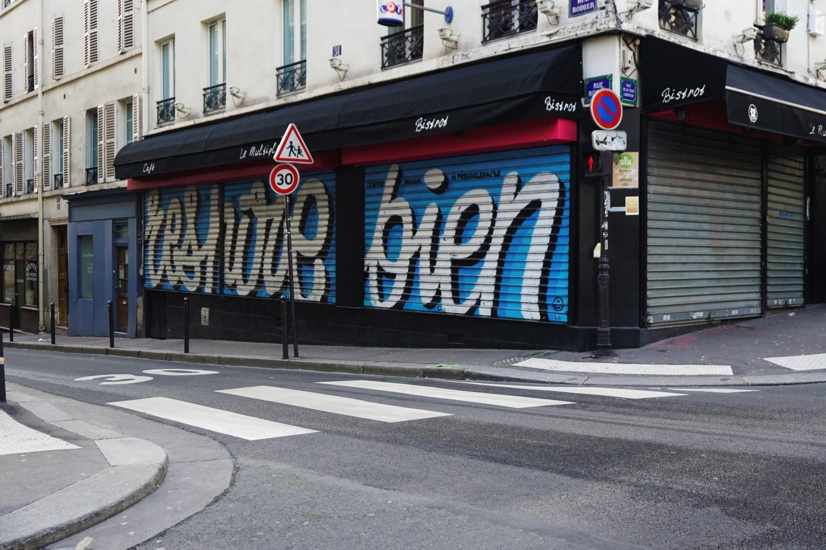 Rue Rodier, Prends le Facile - Balade dans les 9e et 10e arrondissements de Paris - De place de la République à Pigalle