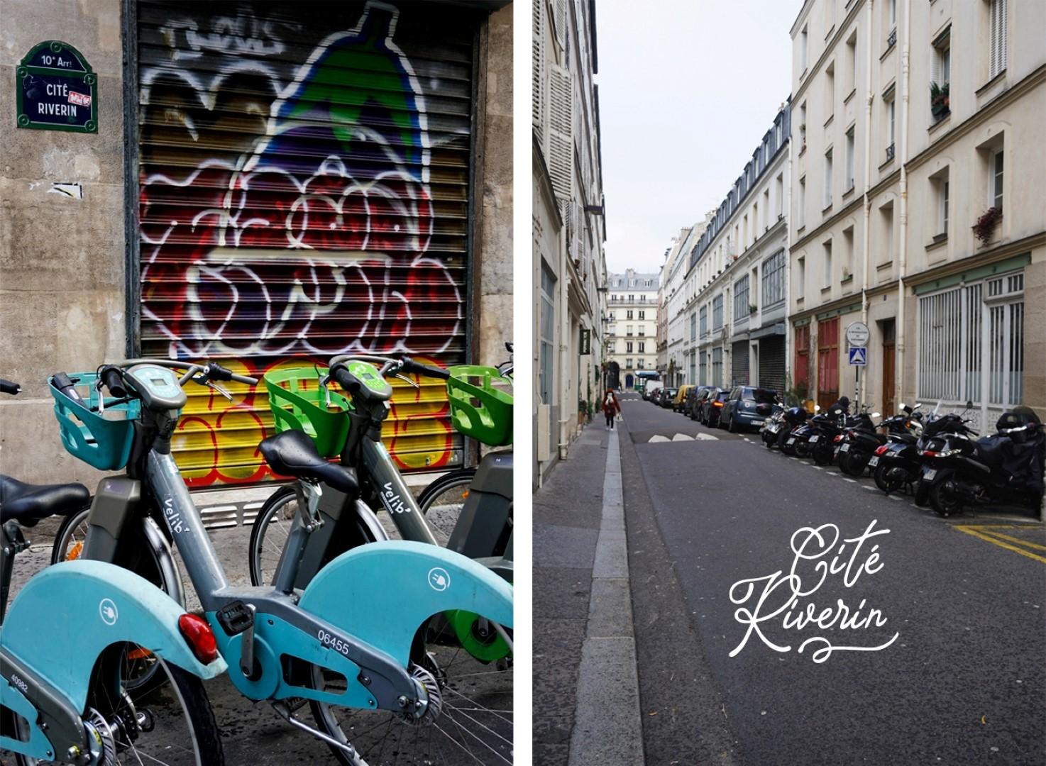 Cité Riverin - Balade dans les 9e et 10e arrondissements de Paris - De place de la République à Pigalle
