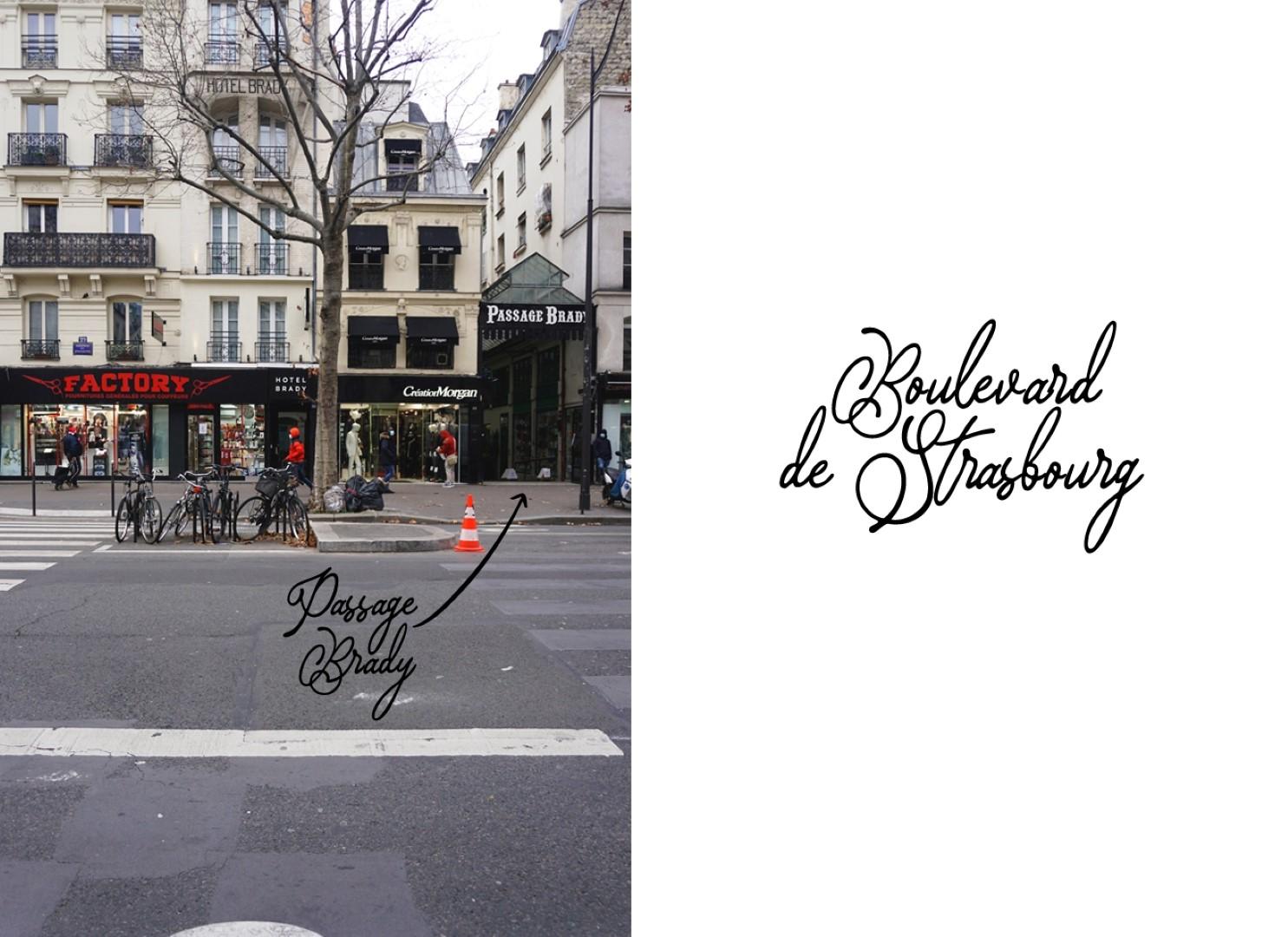 Boulevard de Strasbourg - Balade dans les 9e et 10e arrondissements de Paris - De place de la République à Pigalle