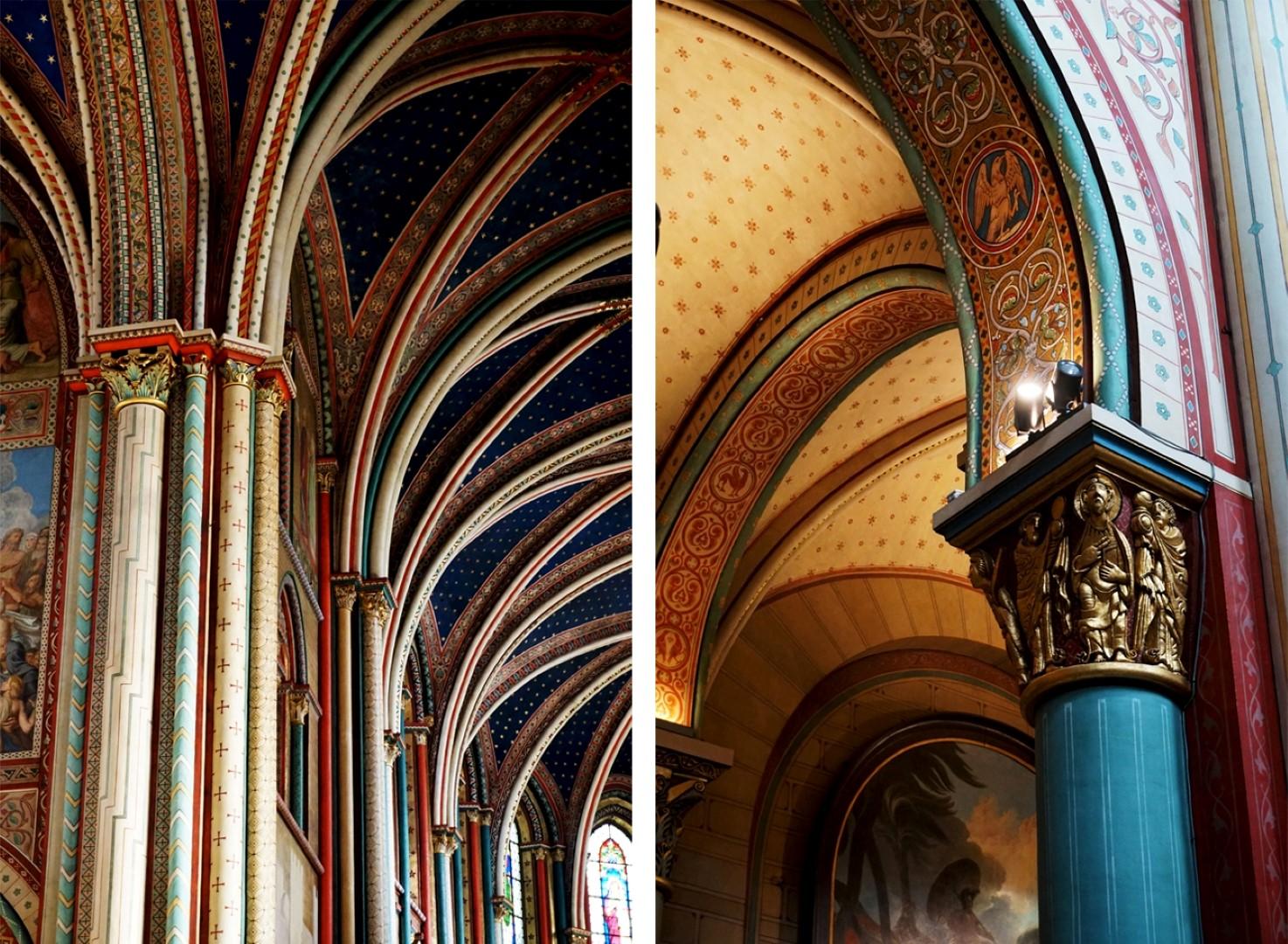Balade dans le 7e - de Saint Germain au Gros Caillou - Eglise Saint Germain des Prés