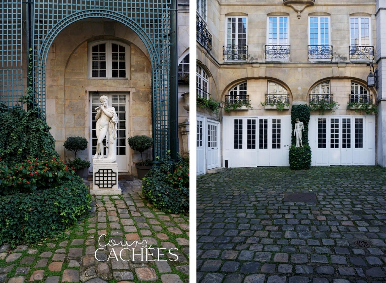 Balade dans le 7e arrondissement de Paris | de Saint Germain des Près au quartier du Gros Caillou - Cours cachées