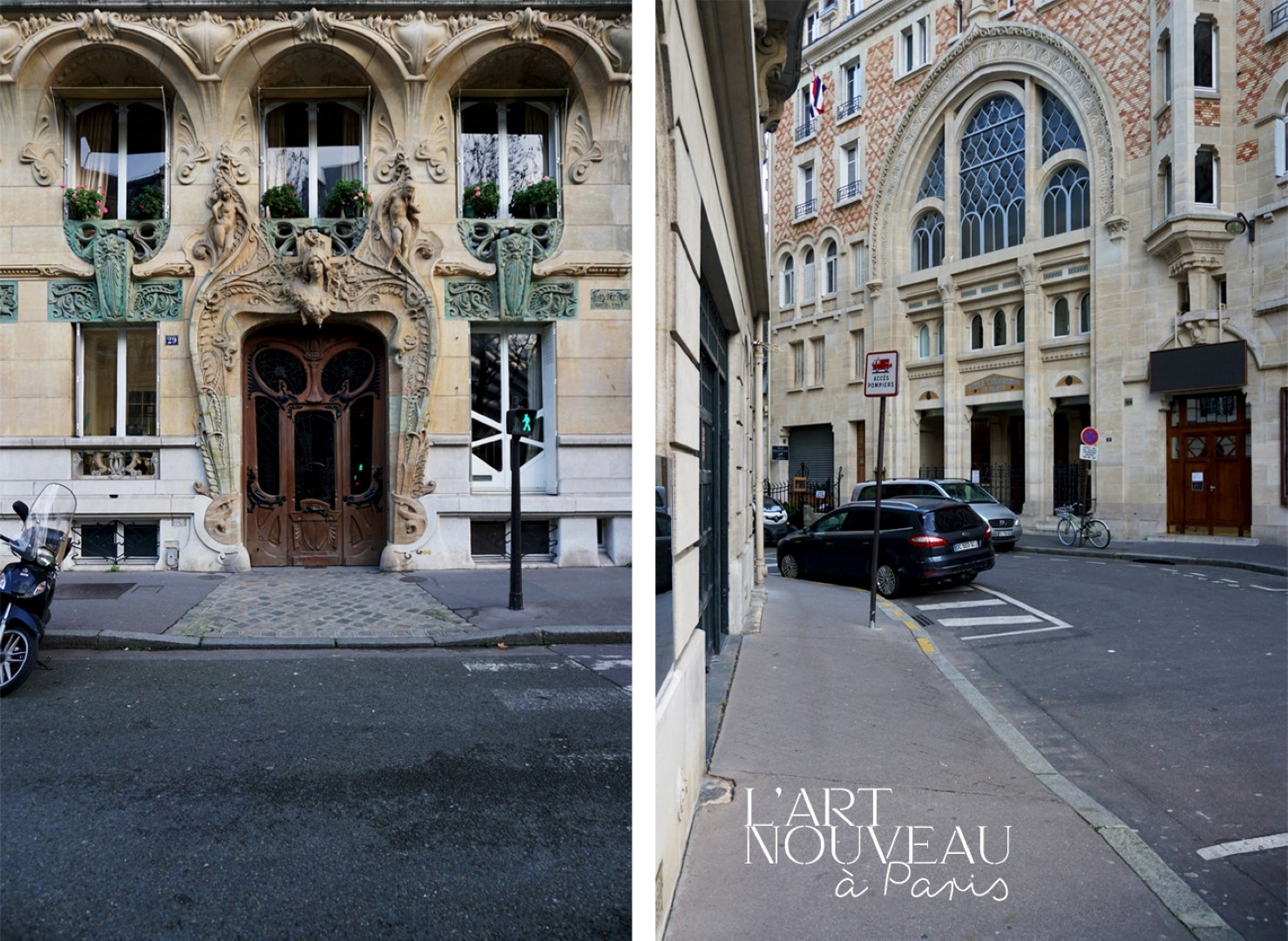 Balade dans le 7e arrondissement de Paris | de Saint Germain des Près au quartier du Gros Caillou - Autour du Champ de Mars et de la Tour Eiffel, Square Rapp