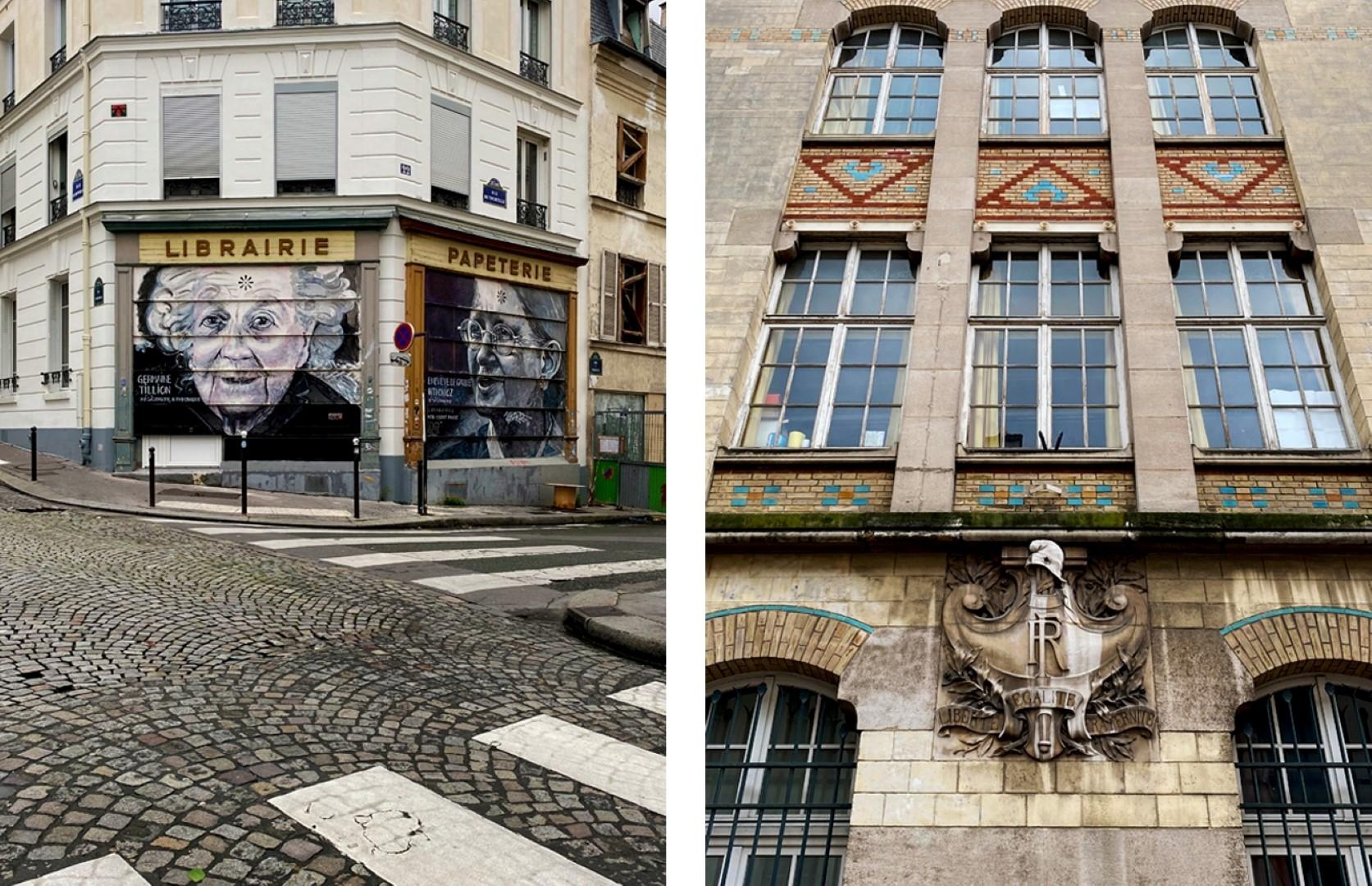 Balade le long de la rue de Belleville - Cours cachées - Rue de Tourtille