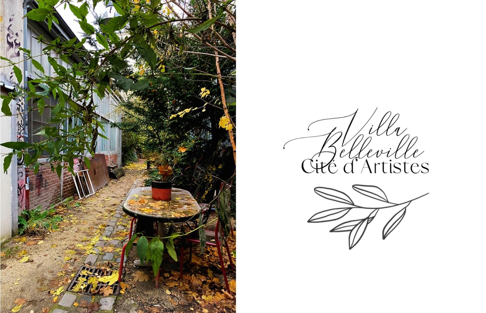 Balade le long de la rue de Belleville - Cours cachées - Villa Belleville