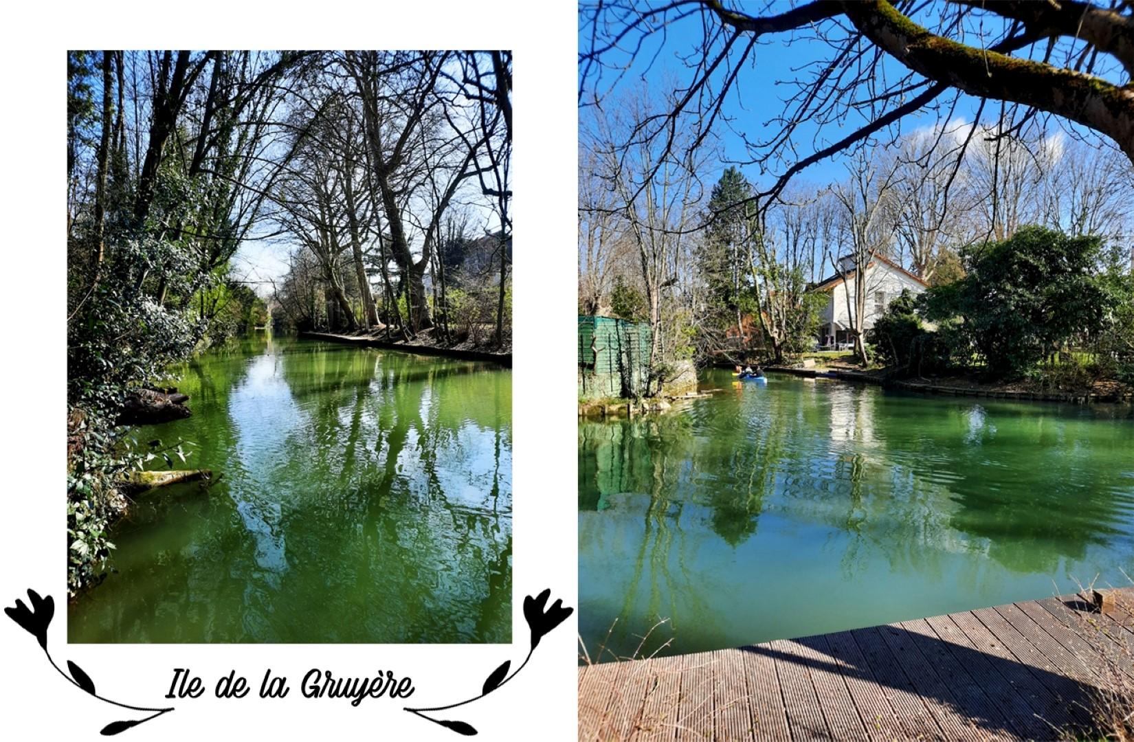 Balade le long de la Marne, Créteil - Ile Sainte Catherine