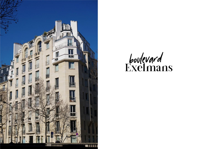 Balade dans le 16e, voies privées et art nouveau - Boulevard Exelmans