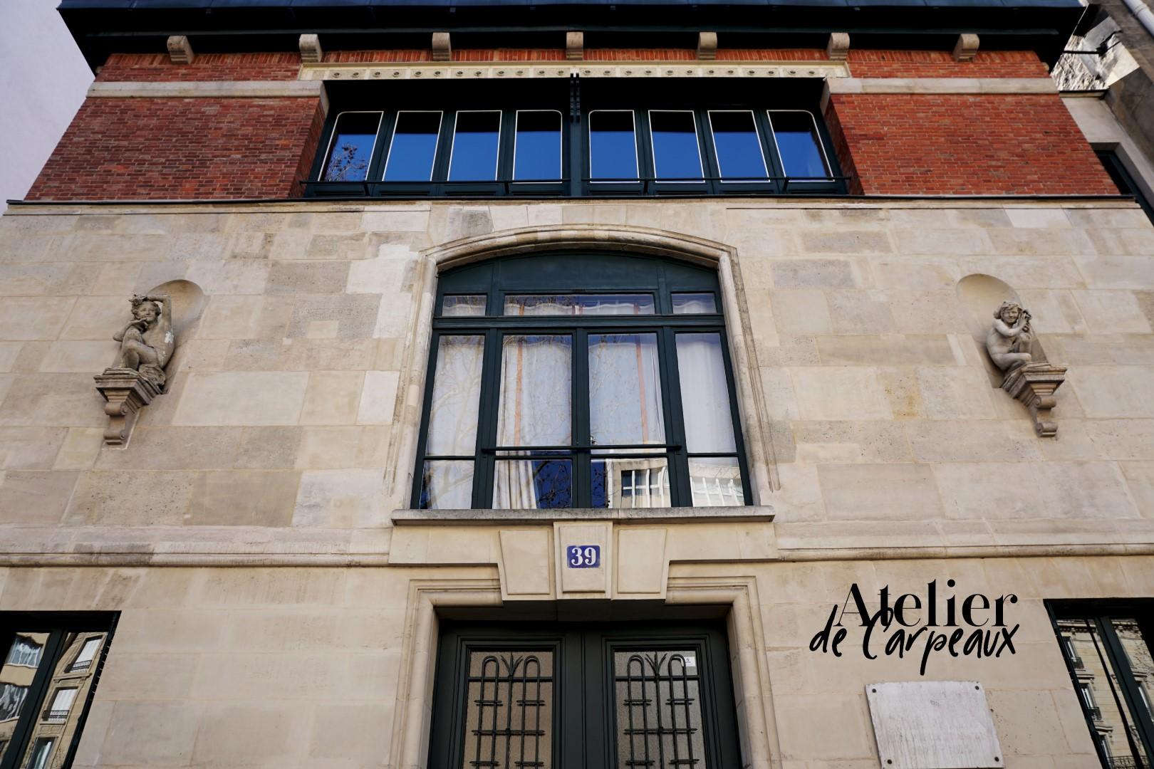 Balade dans le 16e, voies privées et art nouveau - Atelier de Jean Baptiste Carpeaux, Hector Guimard