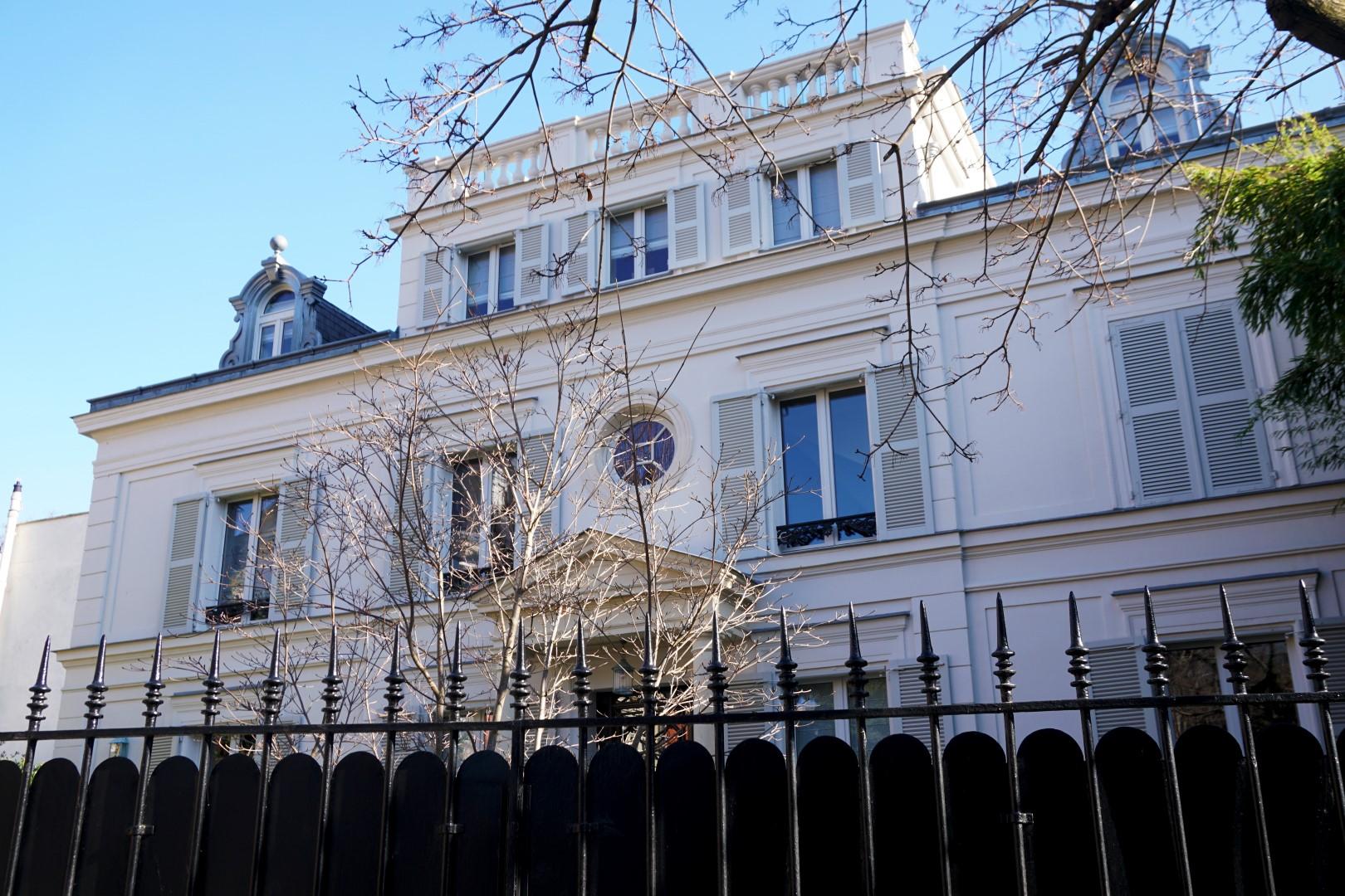 Balade dans le 16e, voies privées et art nouveau - Villa de la Réunion