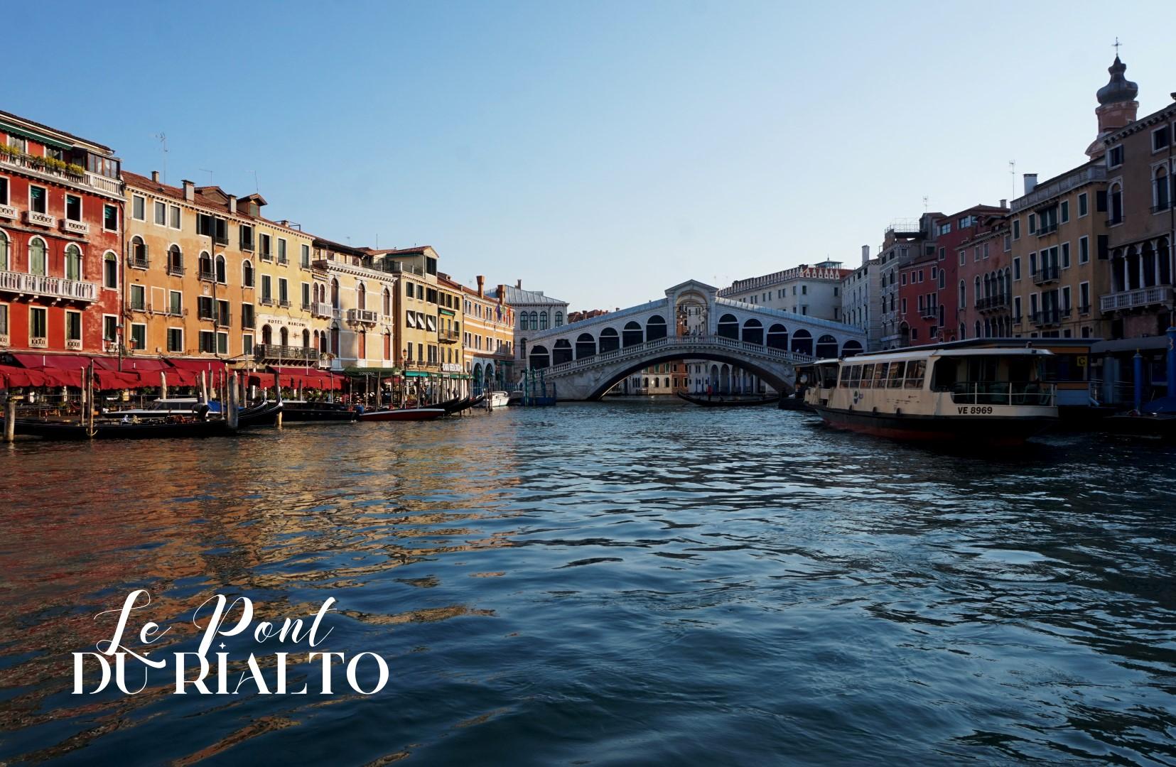 Un voyage en Italie du Nord - De Venise aux Grands Lacs   Venise Pont du Rialto