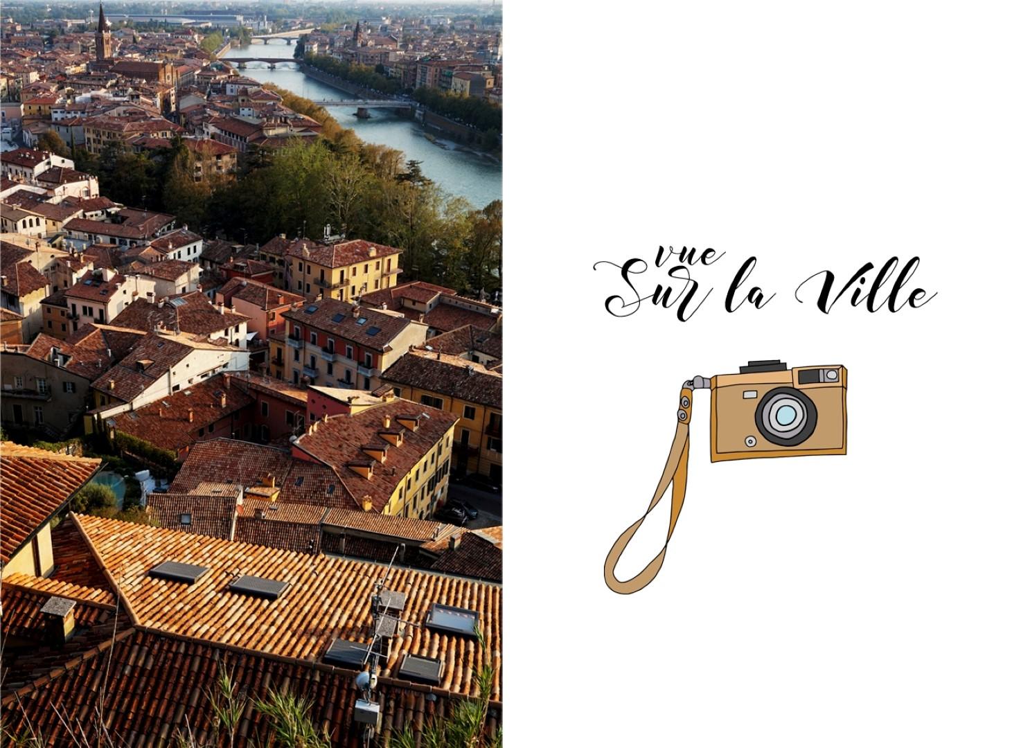 Un voyage en Italie du Nord - De Venise aux Grands Lacs   Vérone vue depuis le Castel san Pietro