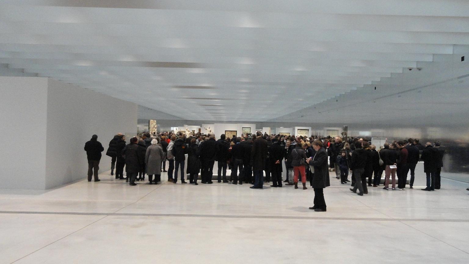 Le Louvre - Lens, la Galerie du Temps - Entrée