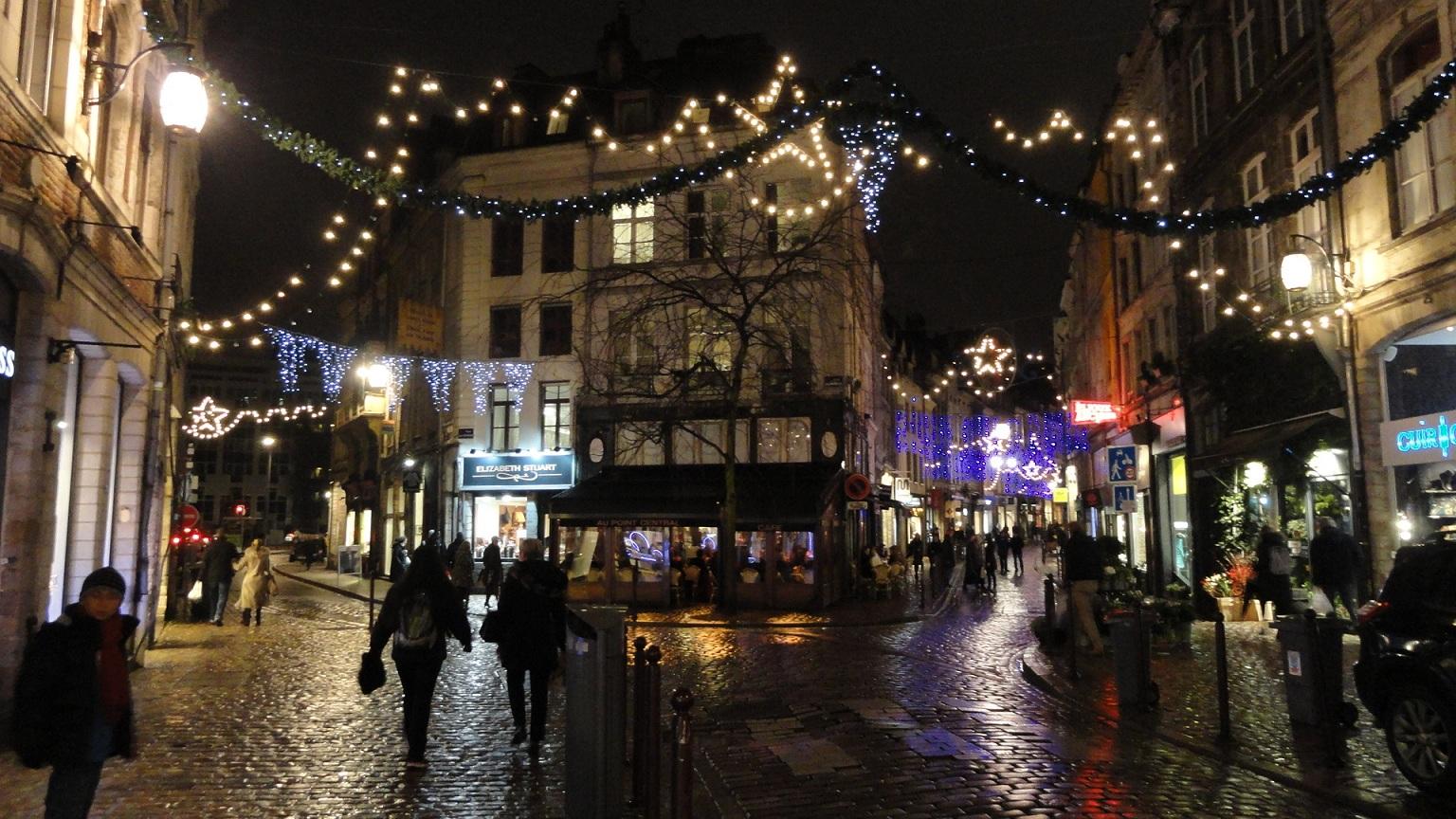 Lille - Rues des Arts et de la Clef