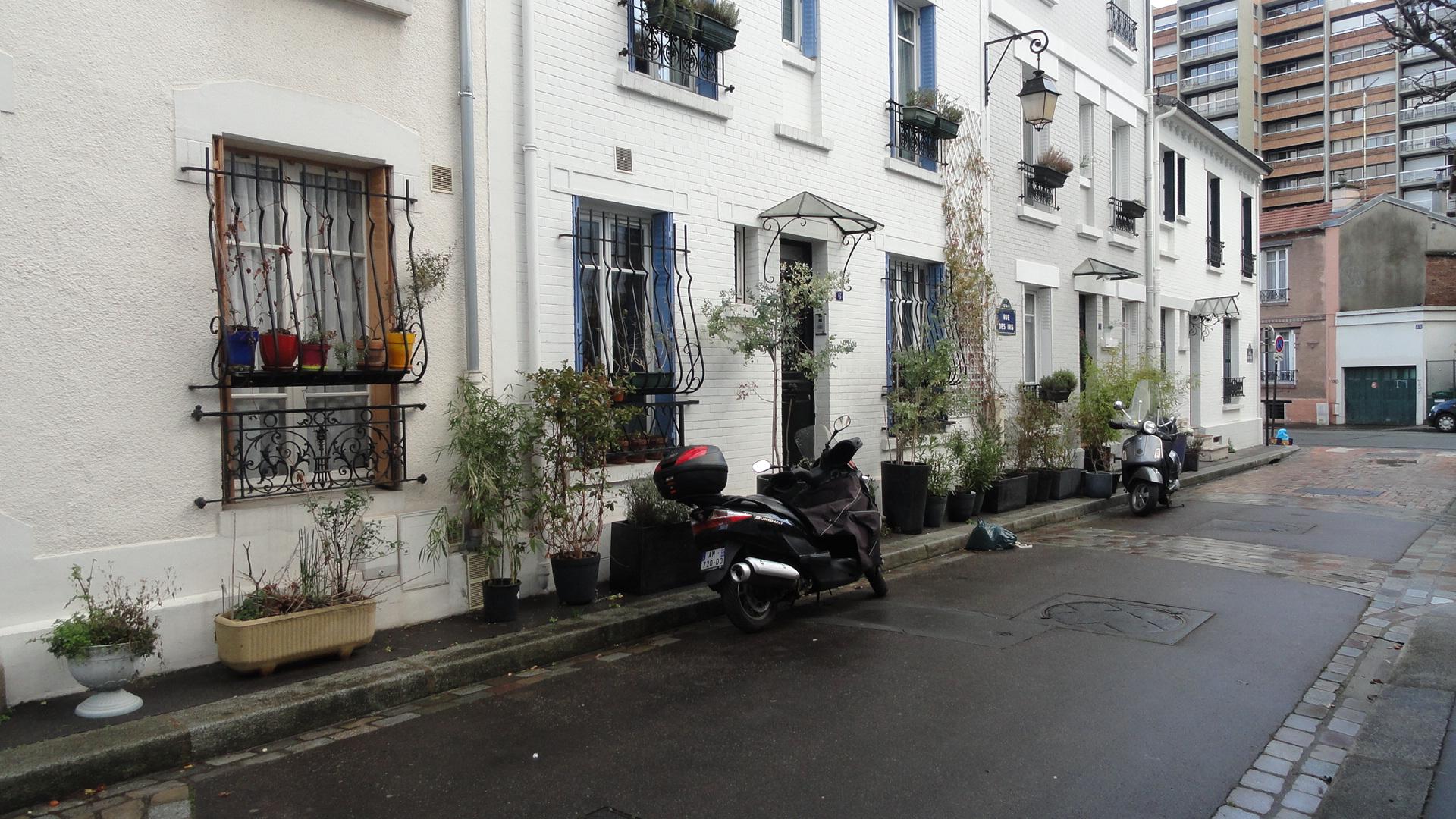 Rue des Iris, Cité Florale