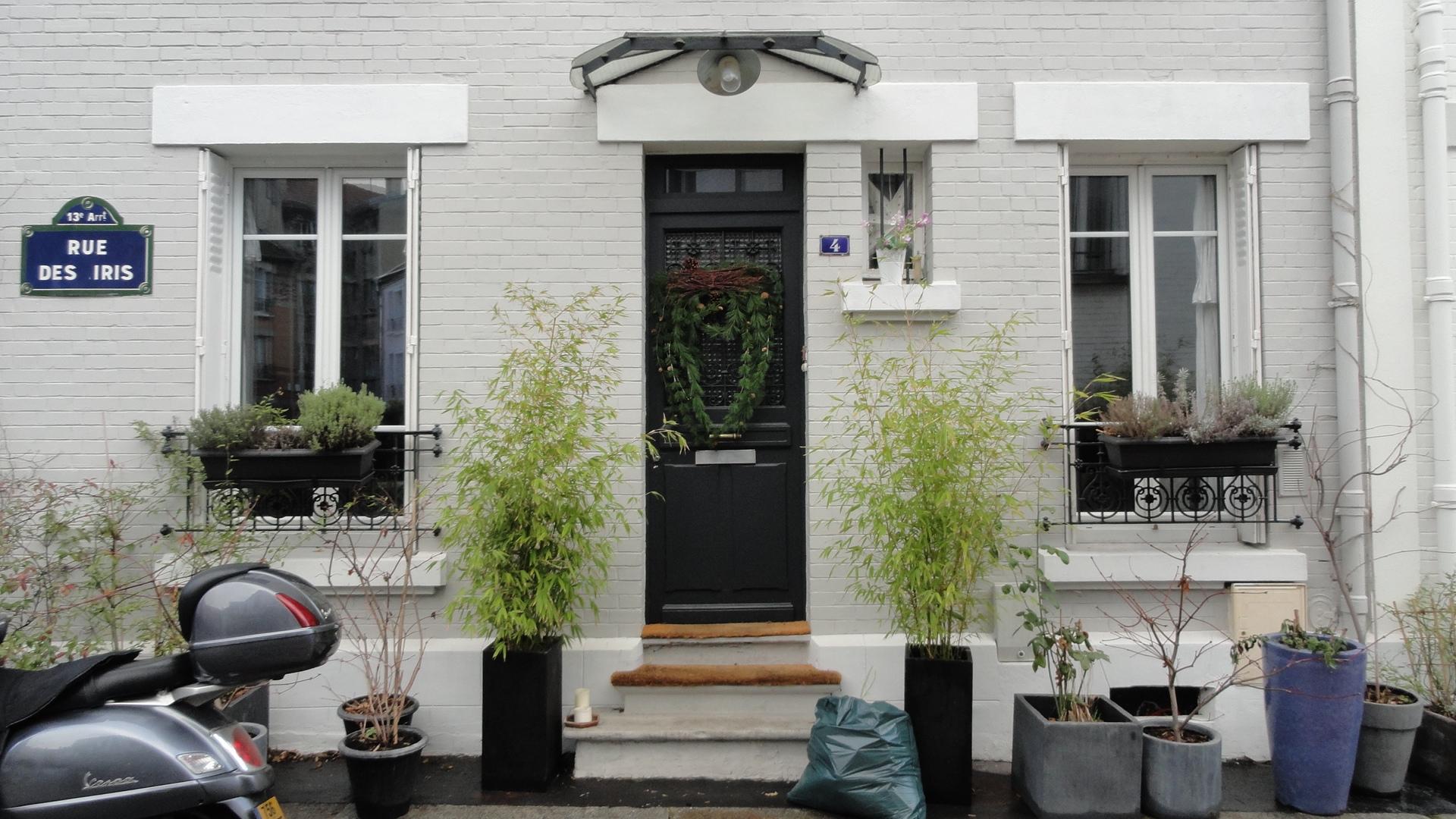 promenade dans le 13e la villa daviel la cit florale et le quartier des peupliers un petit. Black Bedroom Furniture Sets. Home Design Ideas