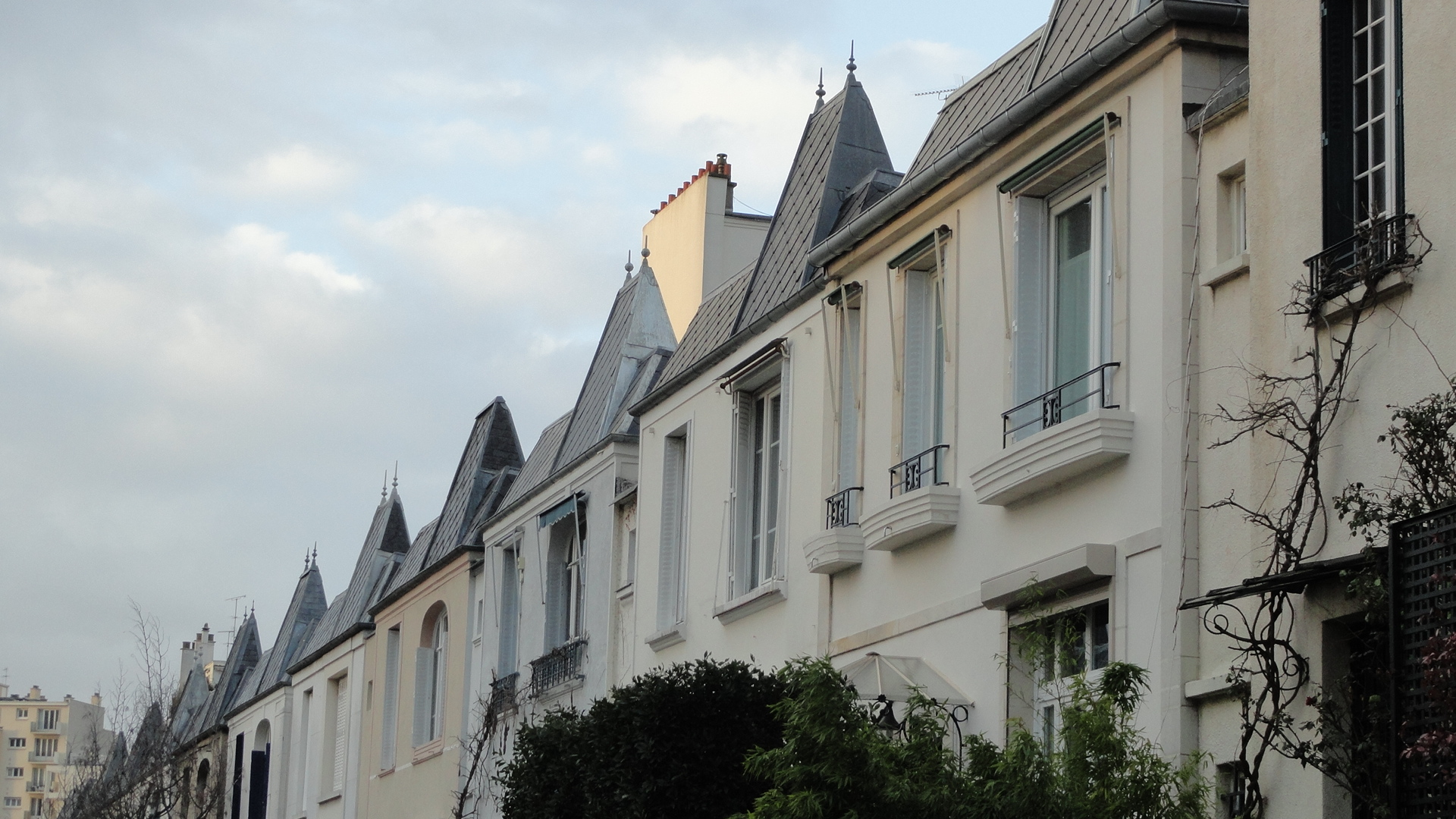 Rue Dieulafoy - Maisons