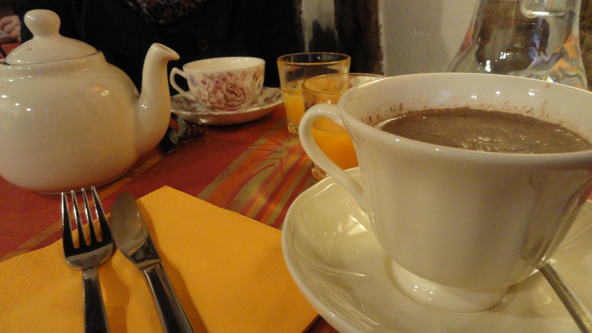Brunch au Queen Ann - Boisons (Thé et  Chocolat Chaud)