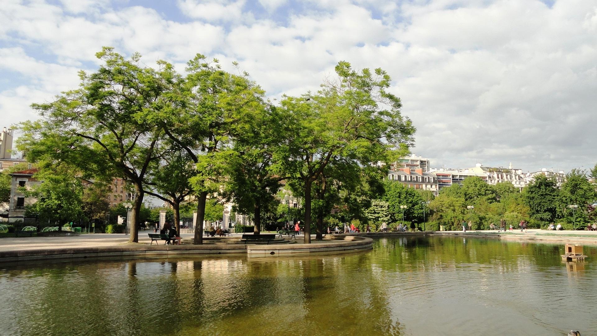Parc Georges Brassens - Bassin