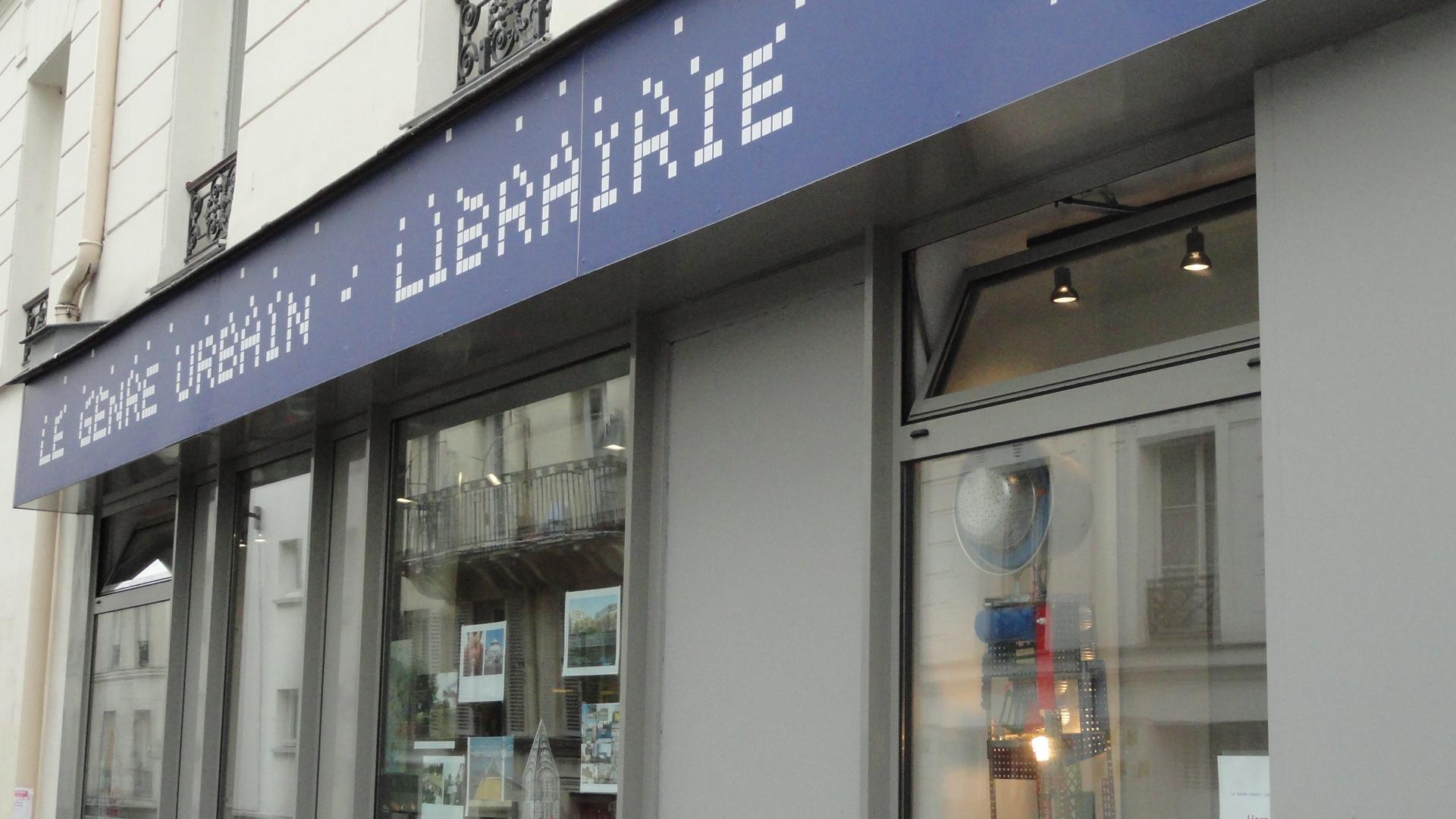 Rue Jouye-Rouve / Rue de Belleville - Librairie Le Genre Urbain