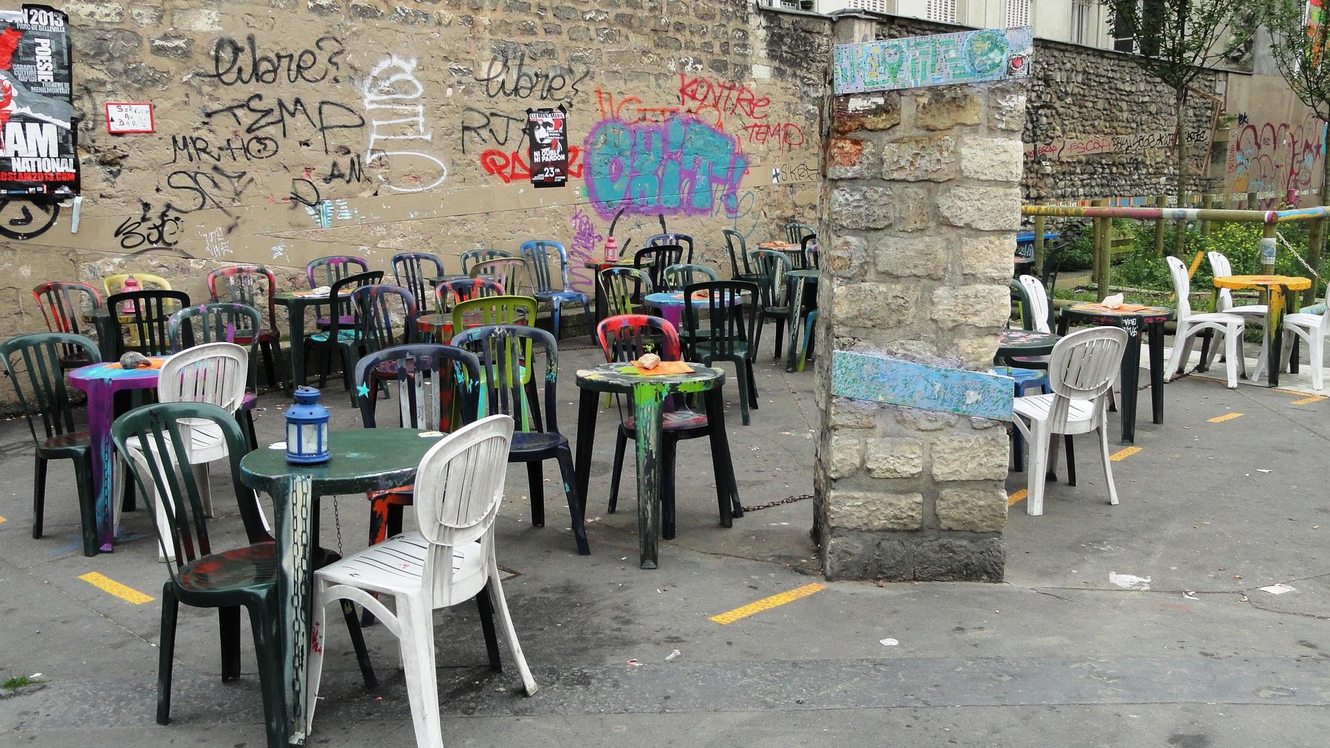 Place Fréhel - Terrasse de Culture Rapide