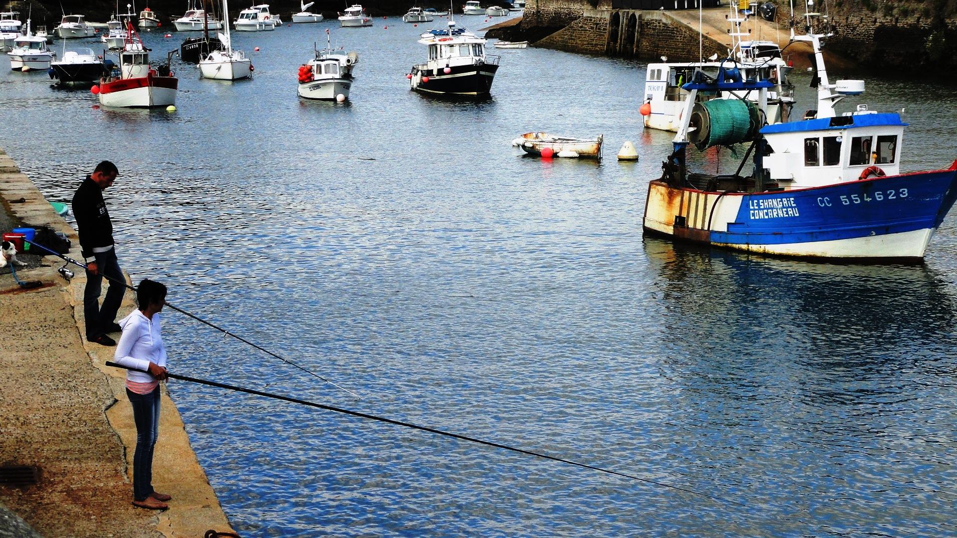 Port de Doëlan - Pêcheurs