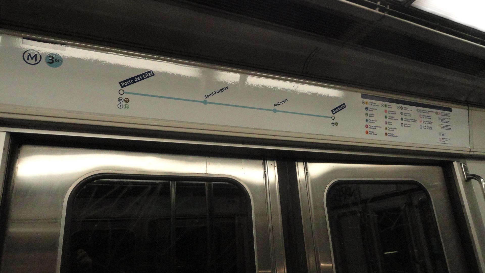 La ligne 3 bis - Plan