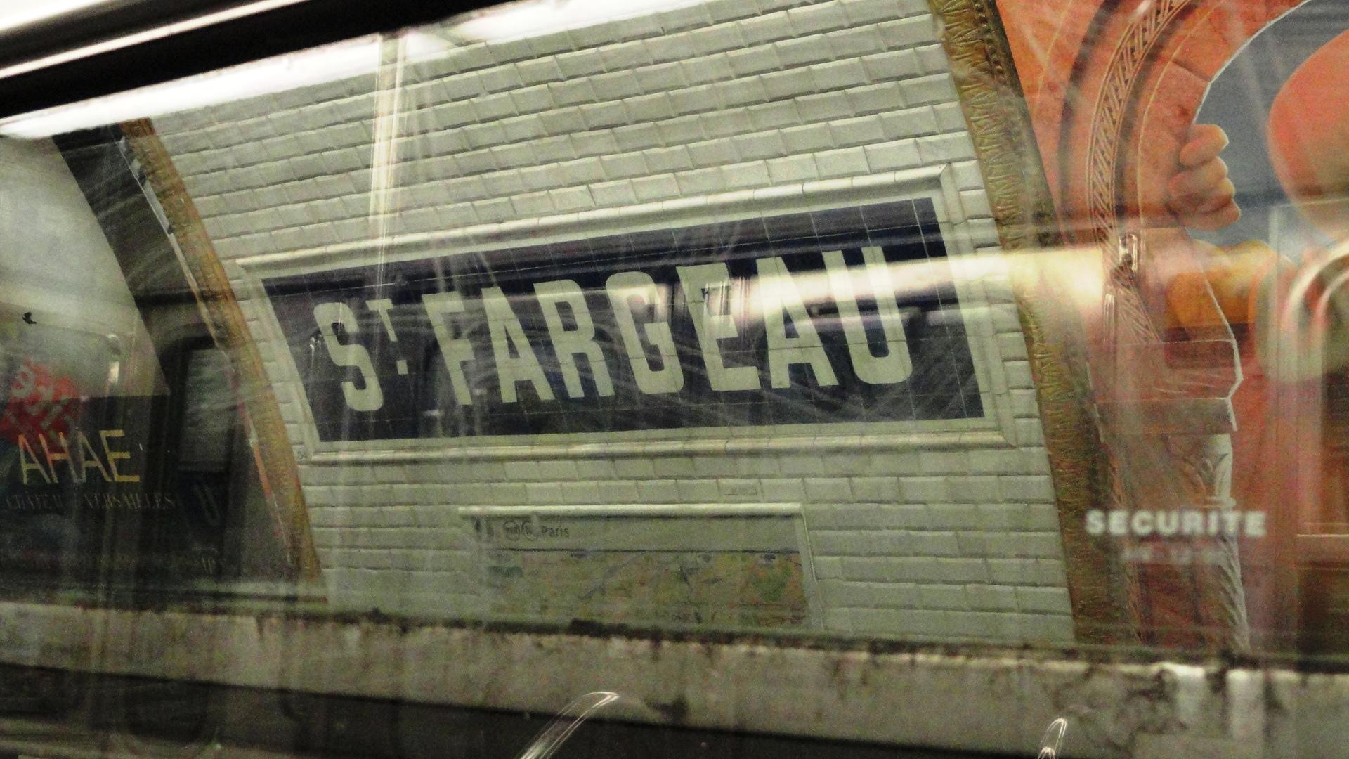 La ligne 3 bis - Station St Fargeau