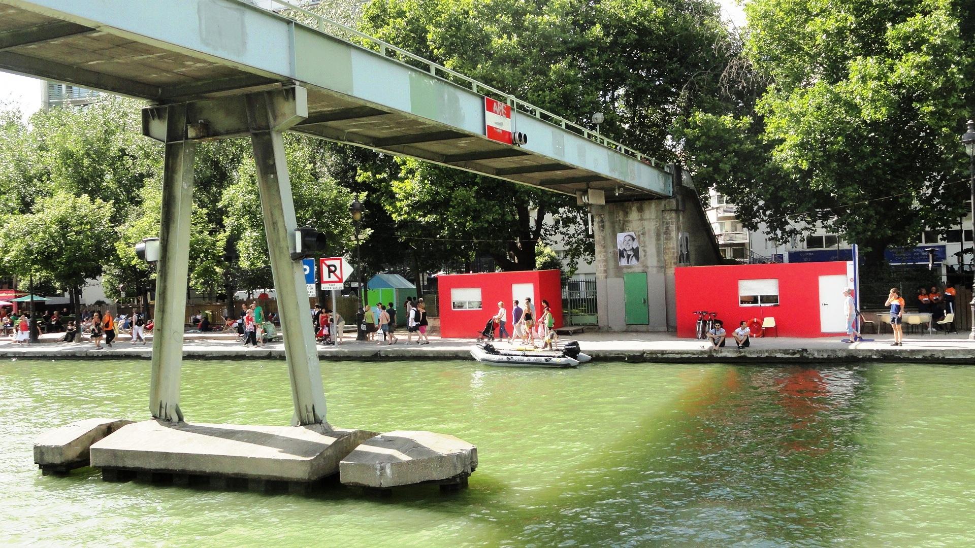 Bassin de la Villette - Paris Plage