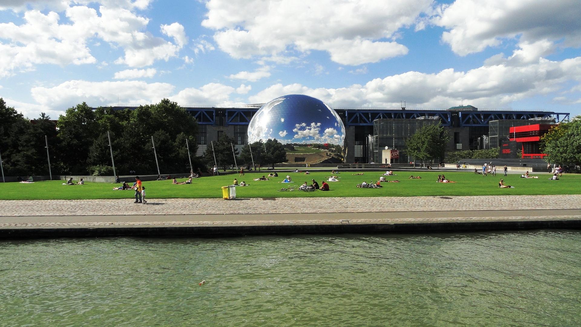 Parc de la Villette, Paris - La Géode