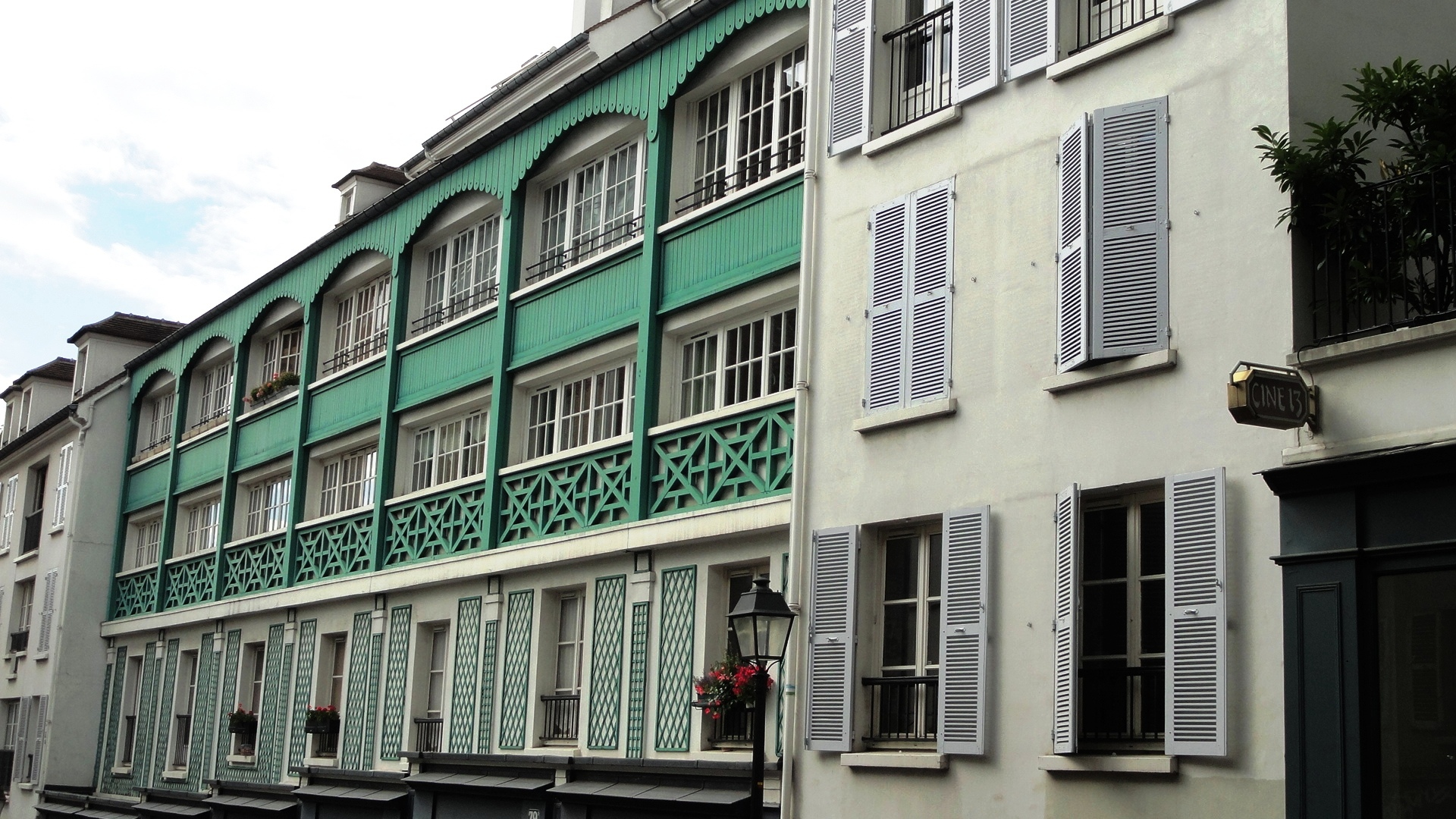 Promenade dans Montmartre - Rue Lepic
