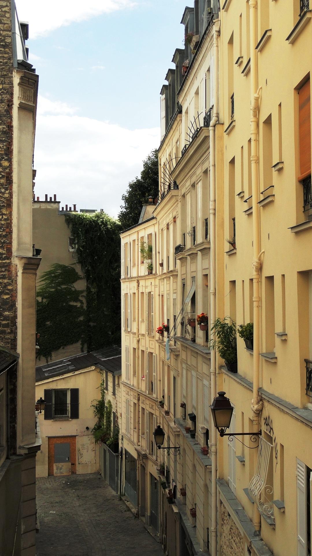 Balade dans Montmartre et les Abbesses  - Passage des Abesses