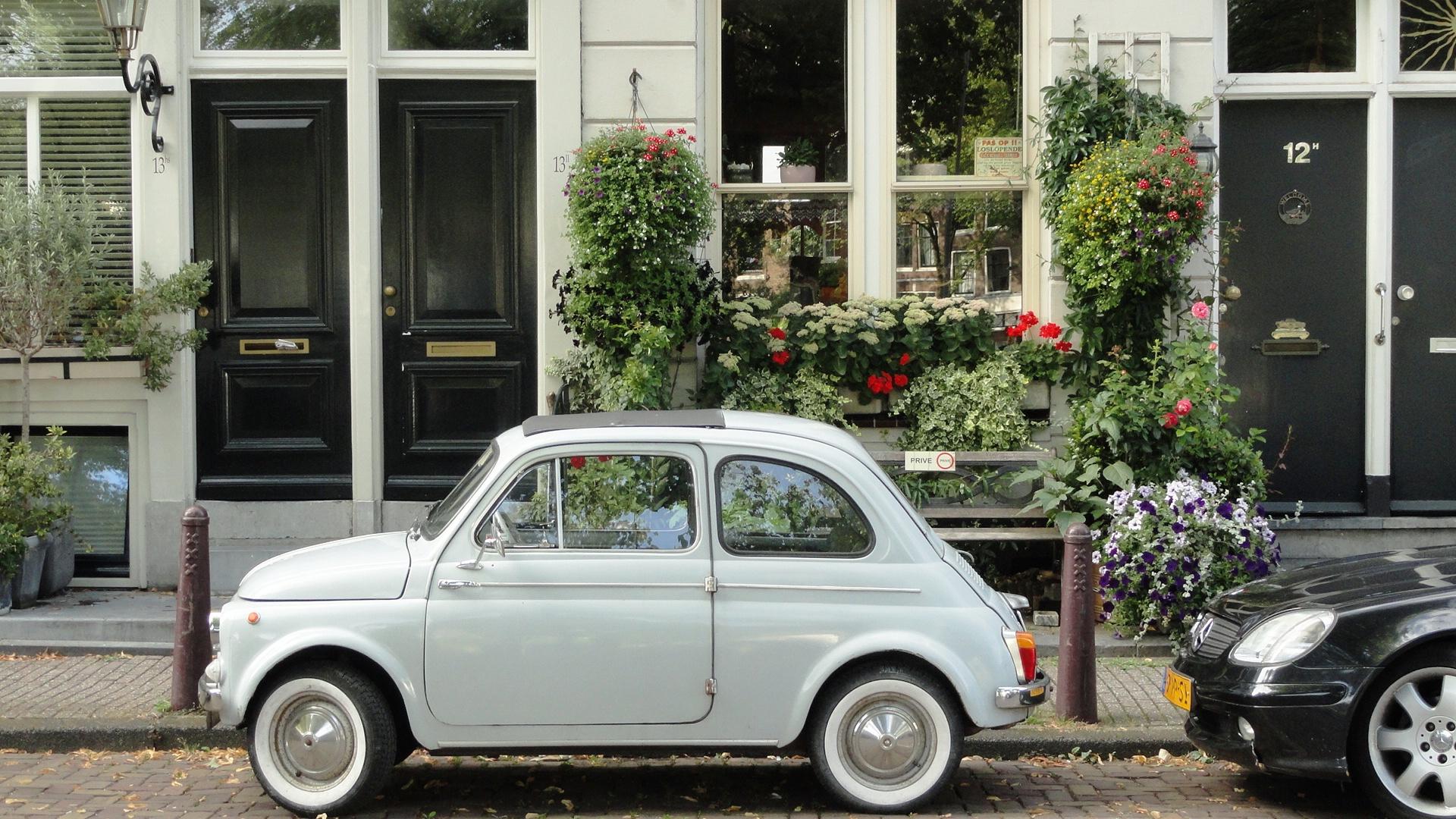 Amsterdam- Maisons autour de la Noordermarkt