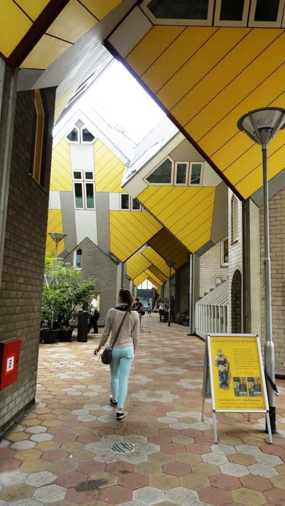 Rotterdam - Les Maisons cubes de Piet Blom