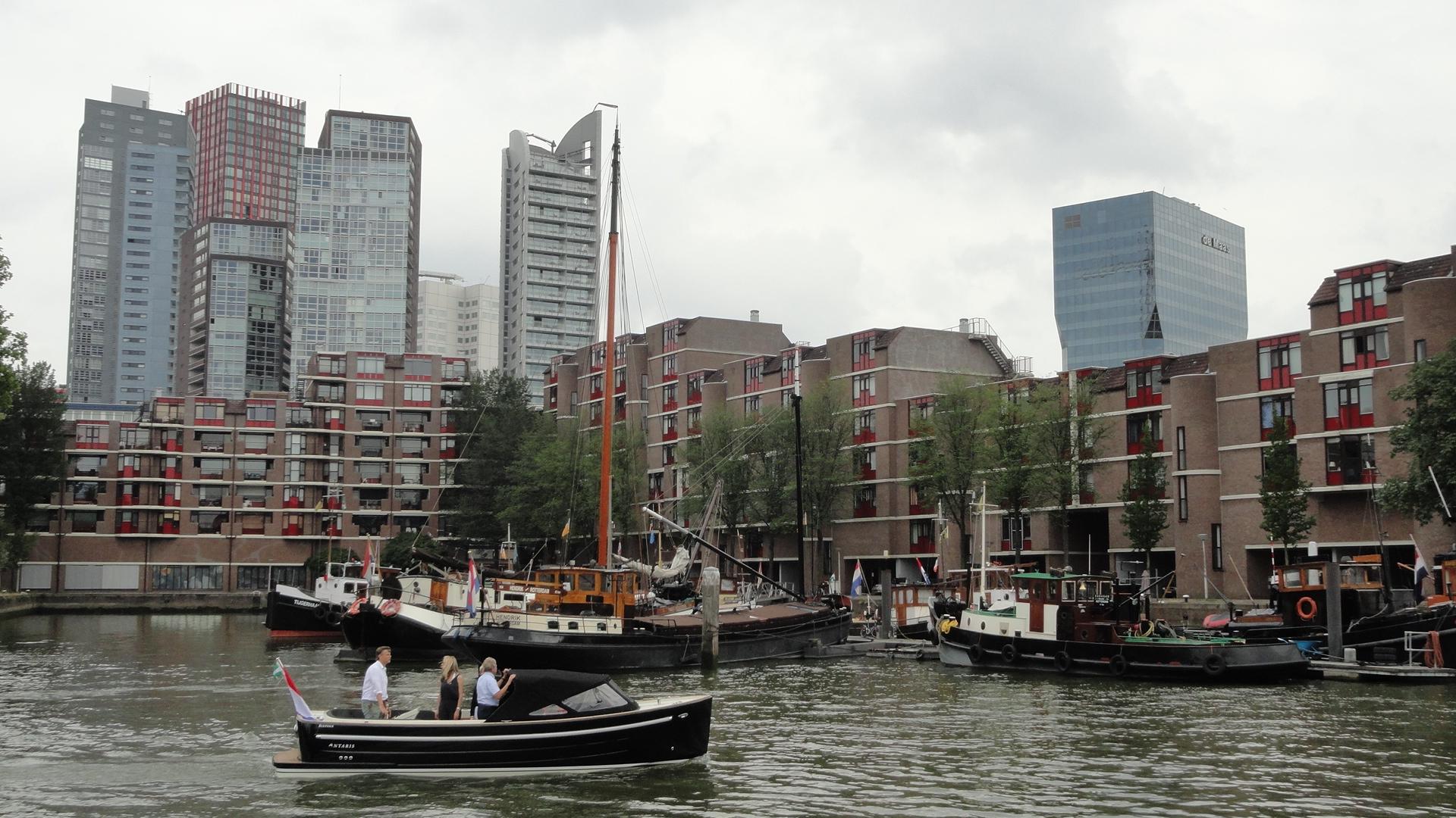Rotterdam -Leuvehaven