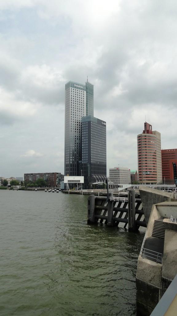 Rotterdam - Vue depuis le pont Erasme