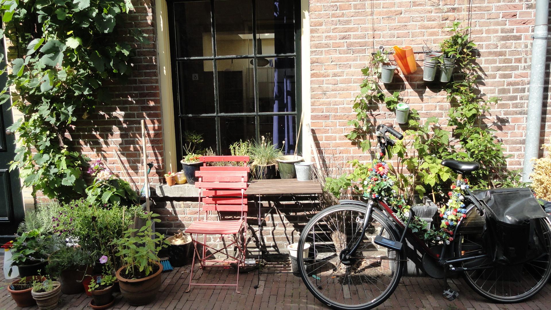 Utrecht -Maison et vélo