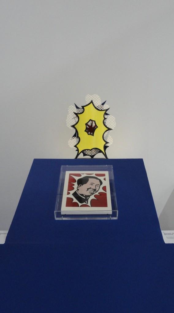 Rétrospective de Roy Lichtenstein, Centre Pompidou - L'agressivité de l'art commercial - Explosion et Mao
