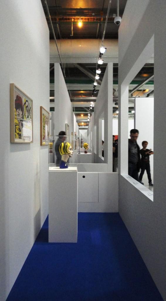 Rétrospective de Roy Lichtenstein, Centre Pompidou - Enfilade