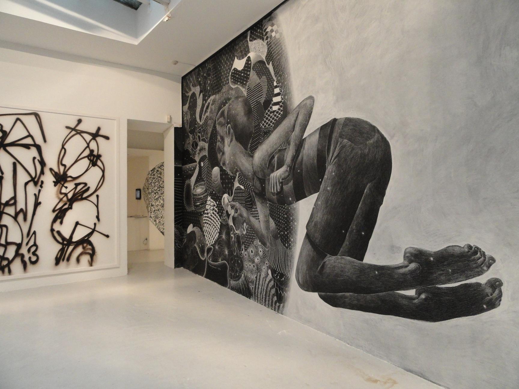 Etat des Lieux 2013 - Galerie du jour, Agnès b. - SETH et Philippe Baudelocque, PAL